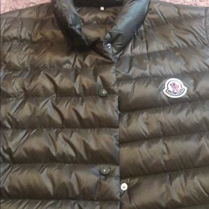 Moncler light puff vest
